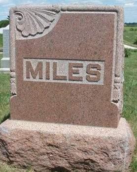 MILES, FAMILY STONE - Madison County, Iowa | FAMILY STONE MILES