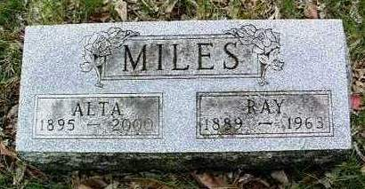 MILES, RAY E. - Madison County, Iowa | RAY E. MILES