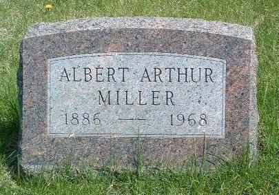 MILLER, ALBERT ARTHUR - Madison County, Iowa | ALBERT ARTHUR MILLER