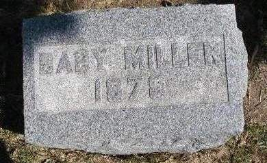 MILLER, BABY - Madison County, Iowa | BABY MILLER