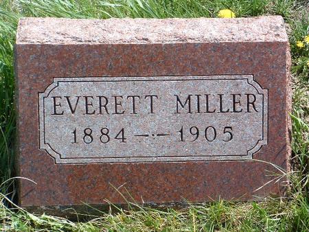 MILLER, M. EVERETT - Madison County, Iowa | M. EVERETT MILLER