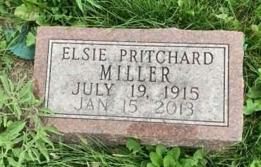 MILLER, ELSIE - Madison County, Iowa   ELSIE MILLER