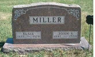MILLER, JOHN ABRAHAM - Madison County, Iowa | JOHN ABRAHAM MILLER