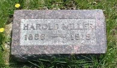 MILLER, HAROLD - Madison County, Iowa | HAROLD MILLER