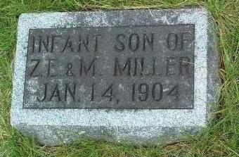 MILLER, INFANT SON - Madison County, Iowa | INFANT SON MILLER