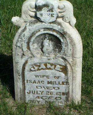MILLER, JANE - Madison County, Iowa | JANE MILLER