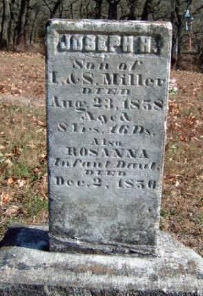 MILLER, JOSEPH H. - Madison County, Iowa | JOSEPH H. MILLER