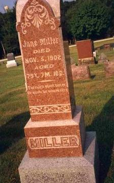 MILLER, JANE - Madison County, Iowa | JANE MILLER