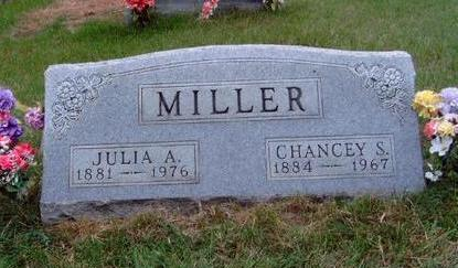 MILLER, JULIA AMY - Madison County, Iowa | JULIA AMY MILLER