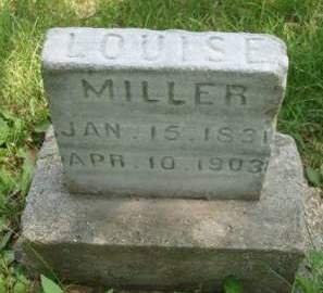 MILLER, LOUISE - Madison County, Iowa | LOUISE MILLER