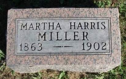 MILLER, MARTHA ANN - Madison County, Iowa | MARTHA ANN MILLER