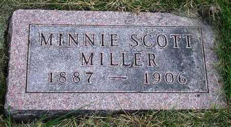 MILLER, MINNIE VICTORIA - Madison County, Iowa   MINNIE VICTORIA MILLER