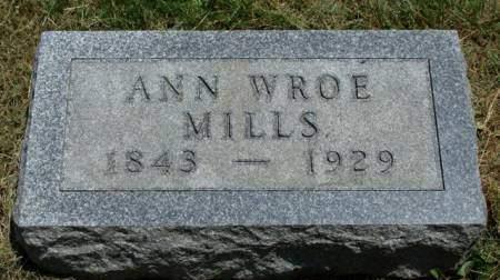 MILLS, ANN MARY - Madison County, Iowa | ANN MARY MILLS