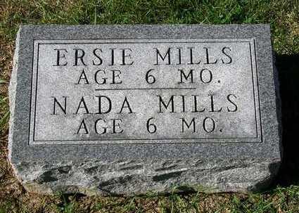 MILLS, ERSIE A. - Madison County, Iowa | ERSIE A. MILLS
