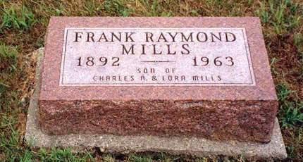 MILLS, FRANK RAYMOND
