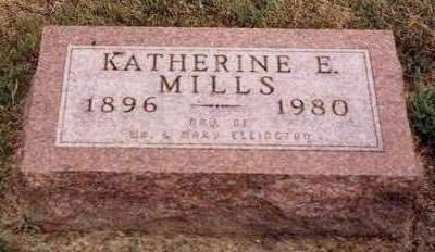 MILLS, CORNELIA KATHERINE E. - Madison County, Iowa | CORNELIA KATHERINE E. MILLS