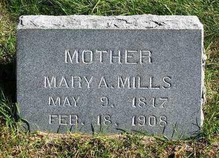 MILLS, MARY ANN - Madison County, Iowa   MARY ANN MILLS