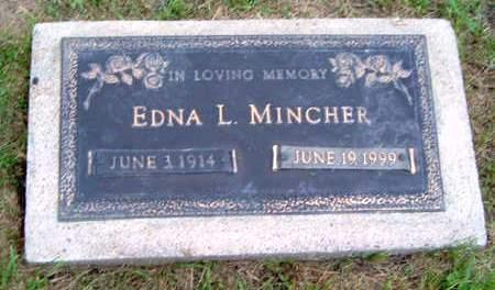 MINCHER, EDNA LELA DORA - Madison County, Iowa | EDNA LELA DORA MINCHER