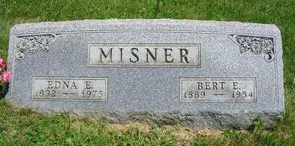 MISNER, BERT EUGENE - Madison County, Iowa   BERT EUGENE MISNER