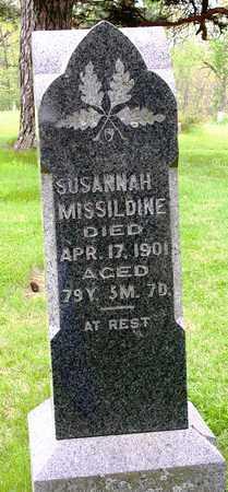 MISSILDINE, SUSANNAH - Madison County, Iowa | SUSANNAH MISSILDINE