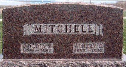 MITCHELL, ALBERT CHESTER - Madison County, Iowa | ALBERT CHESTER MITCHELL