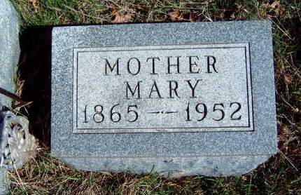 MLEYNEK, MARY - Madison County, Iowa | MARY MLEYNEK