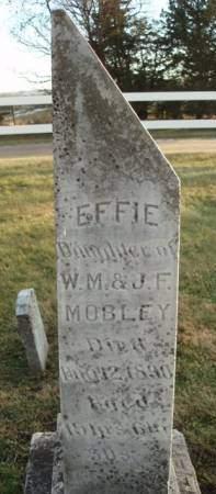 MOBLEY, EFFIE - Madison County, Iowa   EFFIE MOBLEY