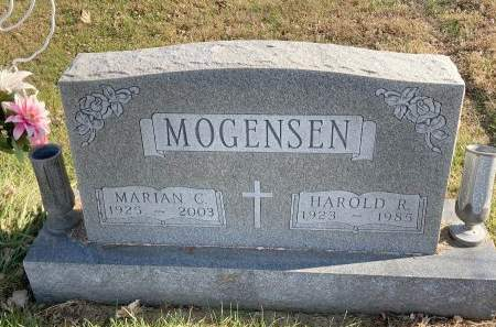 MOGENSEN, MARIAN CARRIE - Madison County, Iowa | MARIAN CARRIE MOGENSEN