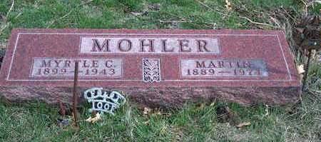 MOHLER, MYRTLE C. - Madison County, Iowa | MYRTLE C. MOHLER