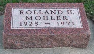 MOHLER, ROLLAND H. - Madison County, Iowa   ROLLAND H. MOHLER
