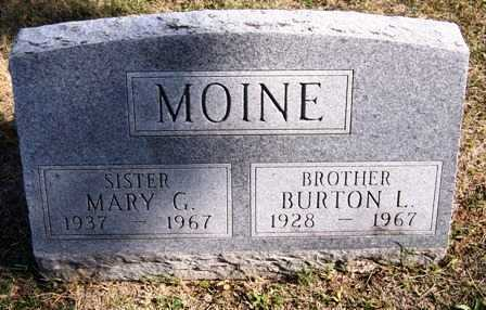 MOINE, MARY G. - Madison County, Iowa | MARY G. MOINE
