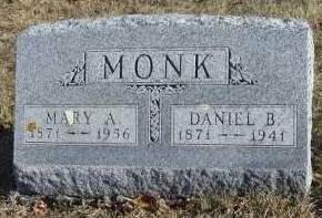 MONK, DANIEL BOONE - Madison County, Iowa | DANIEL BOONE MONK