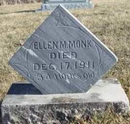 MONK, ELLEN M. - Madison County, Iowa | ELLEN M. MONK