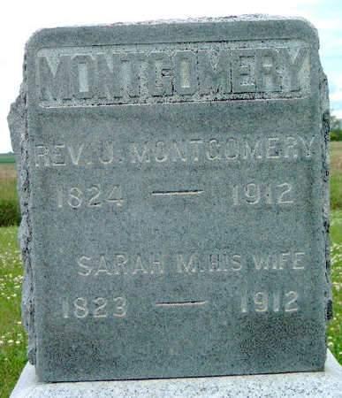 MONTGOMERY, JOHN, REV. - Madison County, Iowa | JOHN, REV. MONTGOMERY