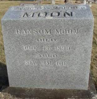 MOON, RANSOM - Madison County, Iowa | RANSOM MOON