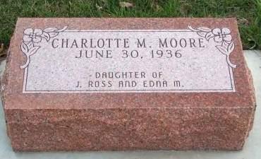 MOORE, CHARLOTTE MAUREEN - Madison County, Iowa | CHARLOTTE MAUREEN MOORE