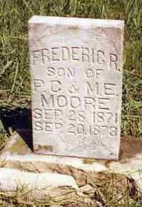 MOORE, FREDERIC R. - Madison County, Iowa | FREDERIC R. MOORE