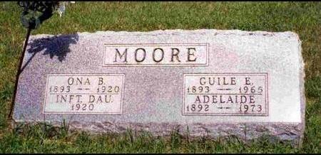 MOORE, GUILE EPHRAIM - Madison County, Iowa   GUILE EPHRAIM MOORE