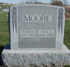 MOORE, ASA LEROY - Madison County, Iowa | ASA LEROY MOORE