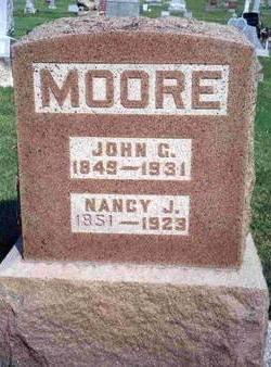 MOORE, JOHN GEORGE - Madison County, Iowa | JOHN GEORGE MOORE