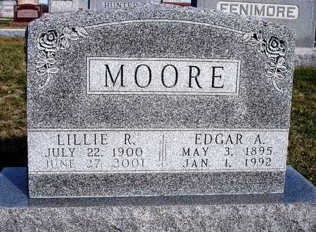 RICHMOND MOORE, LILLIE MAY - Madison County, Iowa | LILLIE MAY RICHMOND MOORE