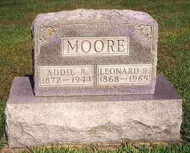 MOORE, ADDIE R. - Madison County, Iowa | ADDIE R. MOORE