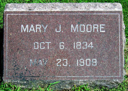 MOORE, MARY JANE - Madison County, Iowa   MARY JANE MOORE
