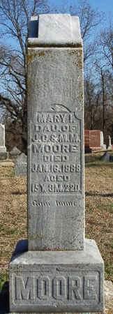 MOORE, MARY I. - Madison County, Iowa | MARY I. MOORE