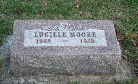 MOORE, ORA LUCILLE - Madison County, Iowa | ORA LUCILLE MOORE