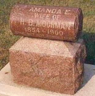 MOORMAN, AMANDA E. - Madison County, Iowa   AMANDA E. MOORMAN