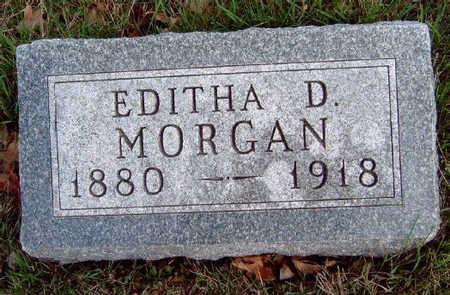 MORGAN, EDITHA DOLTON - Madison County, Iowa | EDITHA DOLTON MORGAN