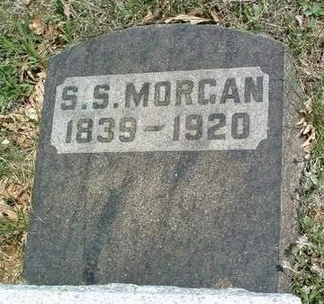 MORGAN, SYLVESTER S. - Madison County, Iowa   SYLVESTER S. MORGAN