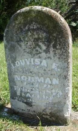 NORMAN, LOUVISA - Madison County, Iowa | LOUVISA NORMAN