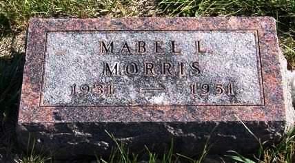 MORRIS, MABEL LOUISE - Madison County, Iowa | MABEL LOUISE MORRIS